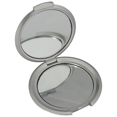 rf-canetas-e-brindes - Espelho duplo de bolsa, material de plástico