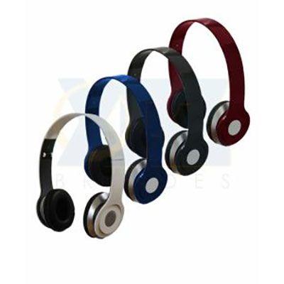 rf-canetas-e-brindes - Fone de ouvido stereo HD, dobrável. Gravação silk screen, resina