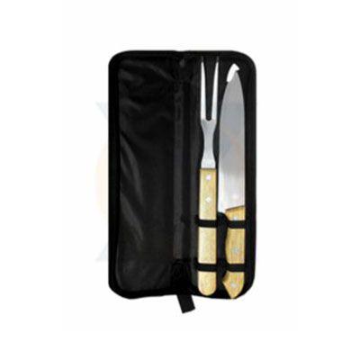 rf-canetas-e-brindes - Kit churrasco com 2 peças