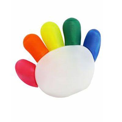 rf-canetas-e-brindes - Marca-texto com 5 cores.