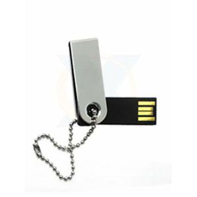 rf-canetas-e-brindes - Pen drive cromado 4GB