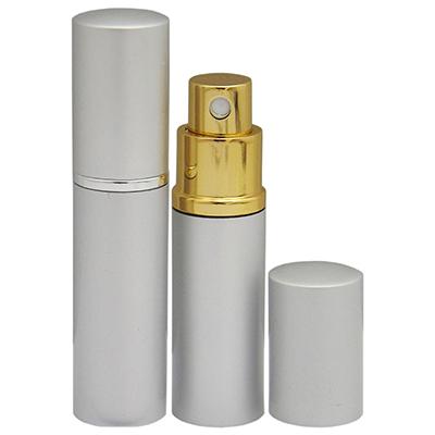 RF Canetas e Brindes - Porta perfume com capacidade para 10 ml, material em alumínio
