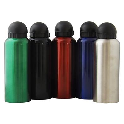rf-canetas-e-brindes - Squeeze em alumínio. Capacidade 500 ml, tampa de plástico