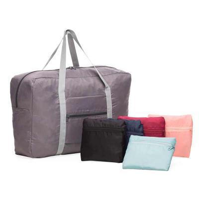 Bolsa de viagem dobrável - Azul claro, cinza, preto, azul escuro, rosa e vermelho
