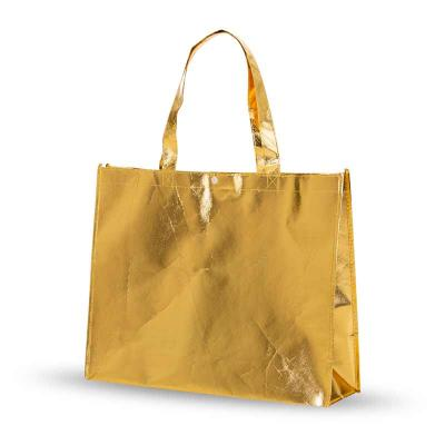 Sacola Metalizada - dourada