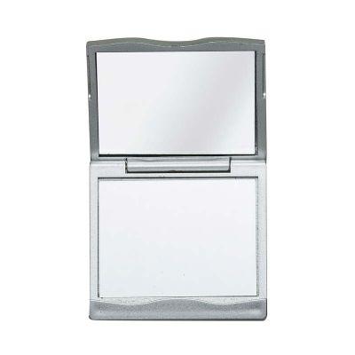 you-brindes - Espelho plástico duplo com aumento