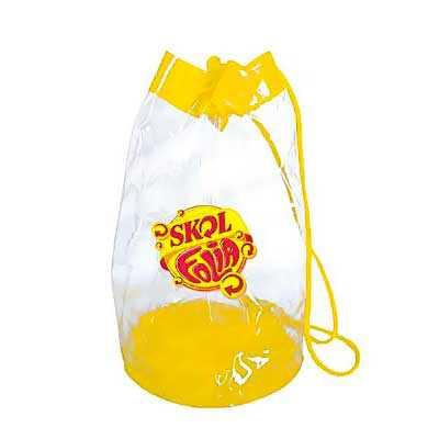 you-brindes - Mochila saco personalizada em pvc Medida: 30x 40 cm Fabricada em pvc flexível
