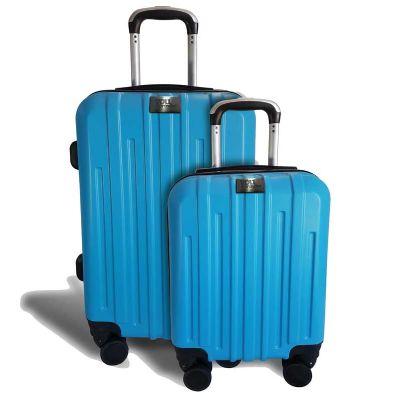 You Brindes - Mala Veneza azul clara personalizada tamanhos P e M
