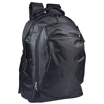 Mochila para notebook com vários bolsos.
