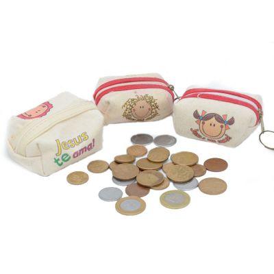 EBN Brindes - Porta-moeda.