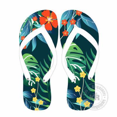 Kits & Requintes - Chinelo de dedo genérico personalizado, embalado o em saco de celofane com fita colorida. Obs.: solicite cotação com a marca Havaianas.