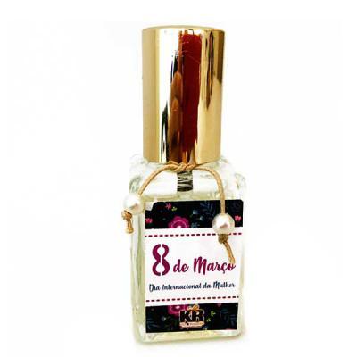 Home Spray (aromatizador de ambientes) em frasco de vidro 30ml, personalizado, acompanha fita e acabamento de pérolas. Consultar aromas disponíveis. - Kits & Requintes