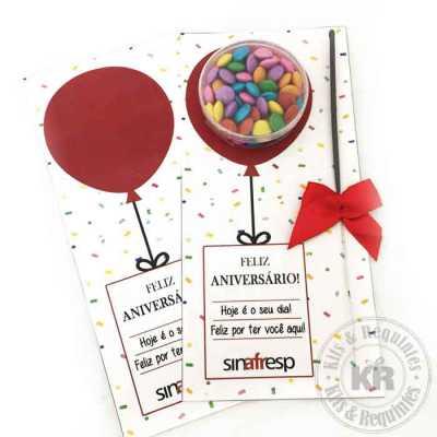 Card Aniversário - Kits & Requintes