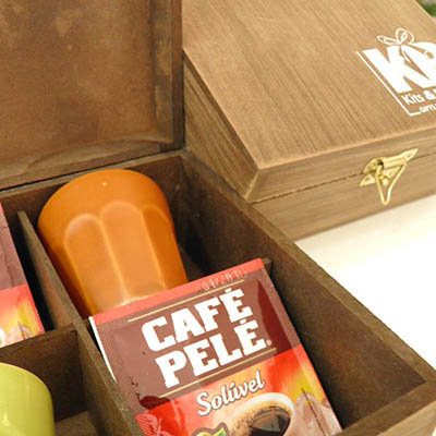Kits & Requintes - Kit café personalizado.