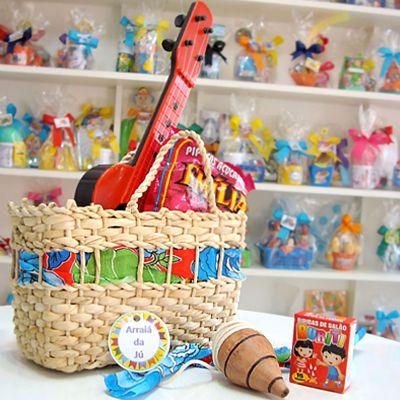 Kits & Requintes - Sacola em palha