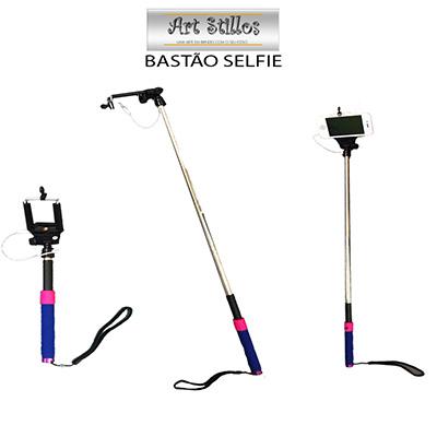art-stillos - Bastão Extensível ideal para Selfie.