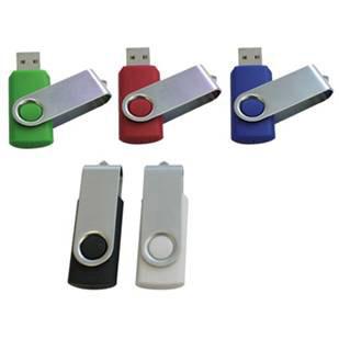 art-stillos - Pen drive giratório personalizado com gravação à laser