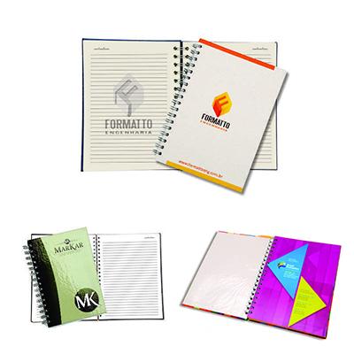 DW Promocionais - Caderno executivo com capa dura.