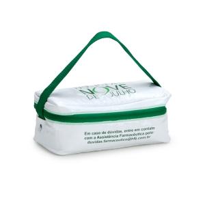 MTD Confecções - Bolsa térmica em PVC, confeccionado em solda eletrônica.