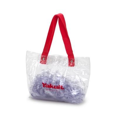 MTD Confecções - Sacola personalizada em PVC cristal com alças de nylon.