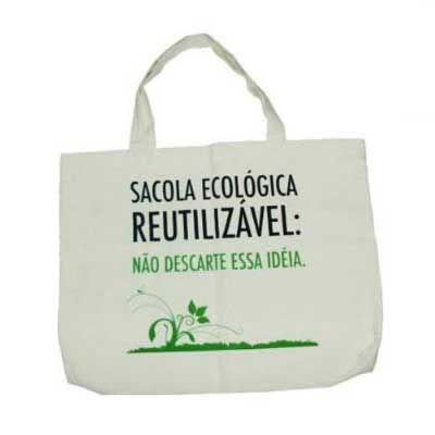 - Ecobag personalizada, sacola ecológica diversos tamanhos e formatos