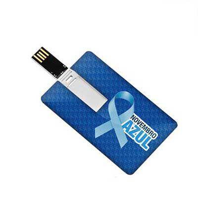 ablaze-brindes - Cartão Pen drive personalizado