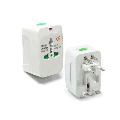 Ablaze Brindes - Adaptador de tomada universal personalizado
