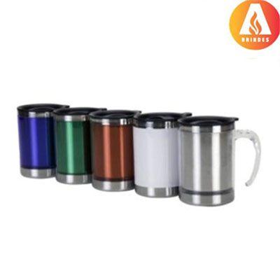 Ablaze Brindes - Caneca térmica com várias cores.