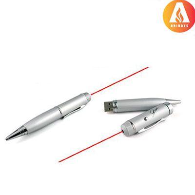 Ablaze Brindes - Caneta laser com pendrive personalizada 4gb.