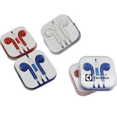 ablaze-brindes - Fone de ouvido com caixinha plástica