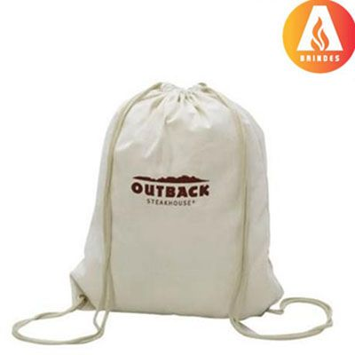 Ablaze Brindes - Saco mochila personalizada.