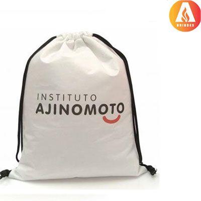 Ablaze Brindes - Mochila saco personalizada.