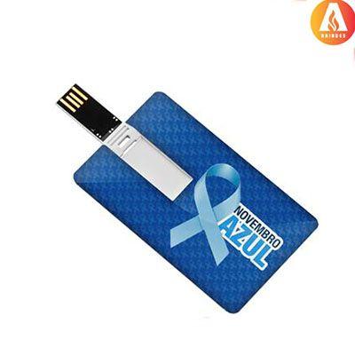 ablaze-brindes - Pen card personalizado, disponível 4,8 e 16GB.
