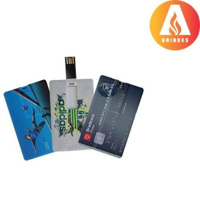 ablaze-brindes - Pen Card 4 e 8gb gravação uv.