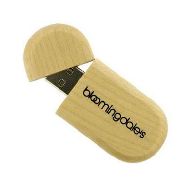 Ablaze Brindes - Pen drive ecológico personalizado