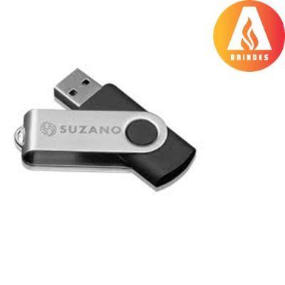 ablaze-brindes - Pen drive giratório, capacidade 4,8 e 16GB