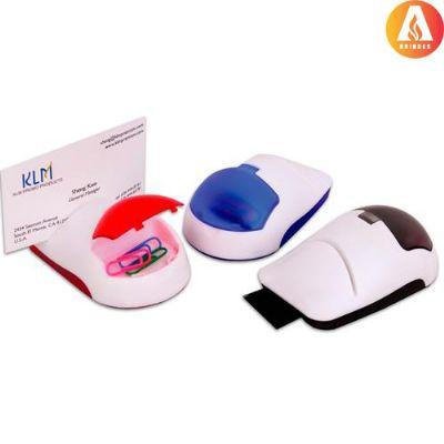 Ablaze Brindes - Porta-cartão plástico personalizado no formato de mouse