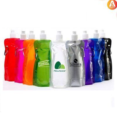 ablaze-brindes - Squeeze dobrável personalizado