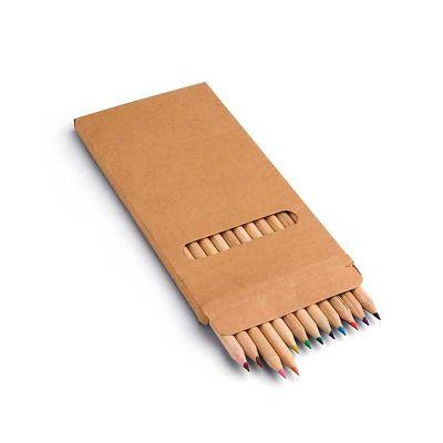 Link Promocional - Caixa de cartão com 12 lápis de cor