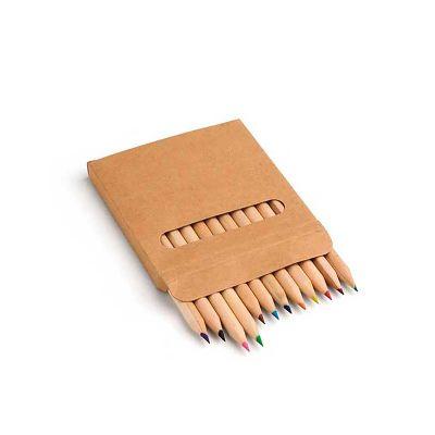 Caixa de cartão com 12 lápis de cor - Link Promocional