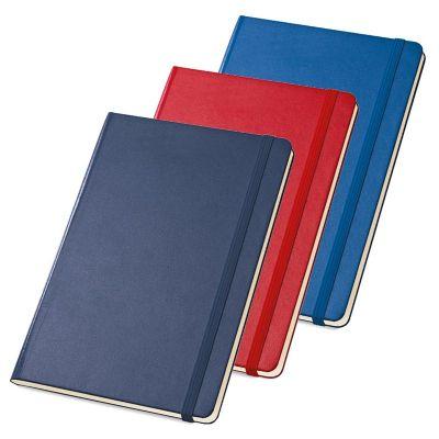 Link Promocional - Caderno capa dura, com bolso interior e 80 folhas