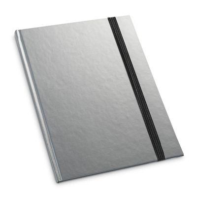Link Promocional - Caderno capa dura, com 80 folhas pautadas
