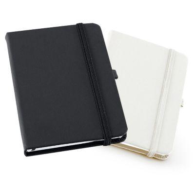 link-promocional - Caderno capa dura, com 80 folhas pautadas