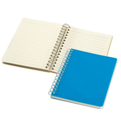 Link Promocional - Caderno personalizado em PP com 64 folhas.