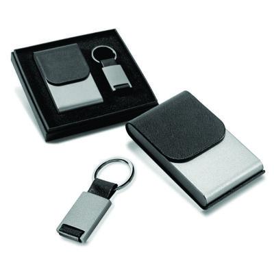 Link Promocional - Kit porta cartões e chaveiro.