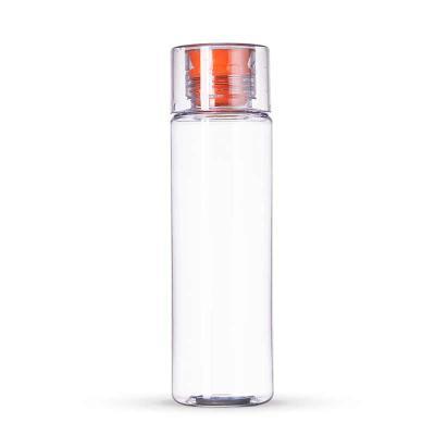 Link Promocional - Fabricado em Tritan/ BPA free, transparente, detalhe de silicone Laranja. Com capacidade para 500ml, o TRITAN é um material a base de copoliéster, sen...