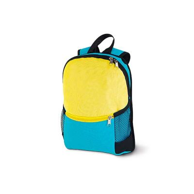 Link Promocional - Mochila infantil de costa com bolsos laterais em tela