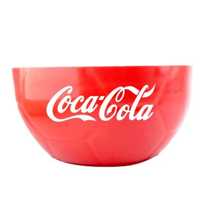 Petisqueira em formato de meia bola de futebol - Abrindes
