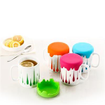 Caneca de café com tampa - Abrindes