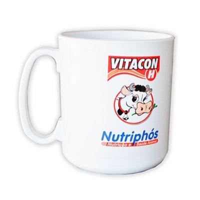Abrindes - Caneca de café produzida em polipropileno